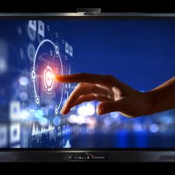 Monitor Interaktywny eBoard VD 8620TD PRO 4K G-II + OPS i5 + WIN 10 Pro OEM PL + Cam VD-CM 800 4K