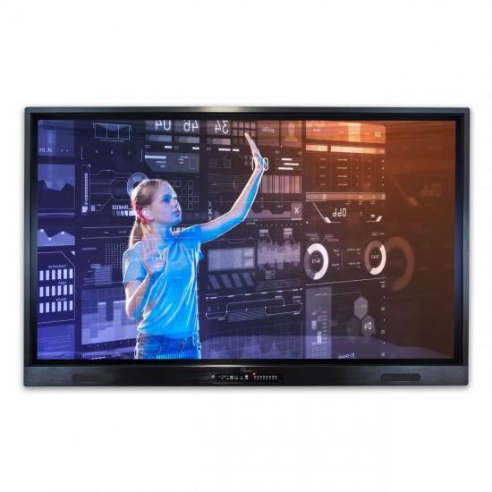 Monitor Interaktywny eBoard VD 6520TD PRO 4K + OPSi5 (4GB/128GB SSD) + WIN10Pro OEM PL
